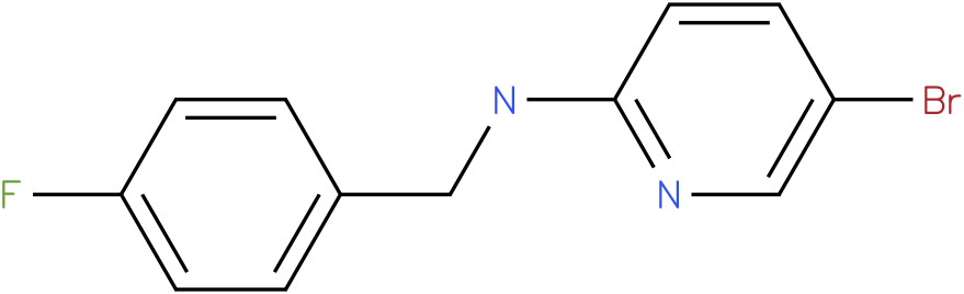 2-Pyridinamine,5-bromo-N-[(4-fluorophenyl)methyl]-