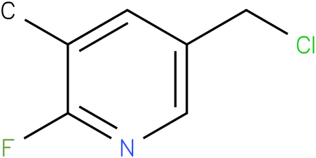 5-(chloromethyl)-2-fluoro-3-methylpyridine