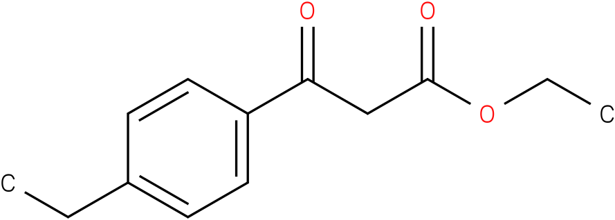 3-(4-ETHYL-PHENYL)-3-OXO-PROPIONIC ACID ETHYL ESTER