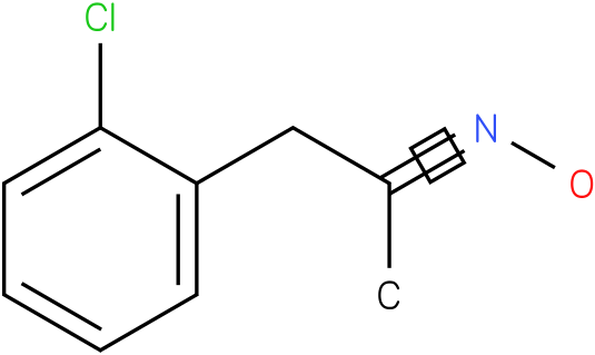 2-Propanone,1-(2-chlorophenyl)-,oxime