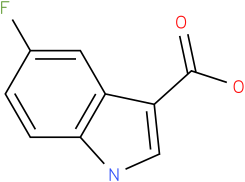1H-INDOLE-3-CARBOXYLIC ACID,5-FLUORO