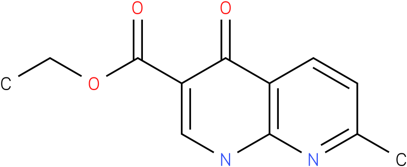 1,8-NAPHTHYRIDINE-3-CARBOXYLIC ACID,1,4-DIHYDRO-7-METHYL-4-OXO-,ETHYL ESTER