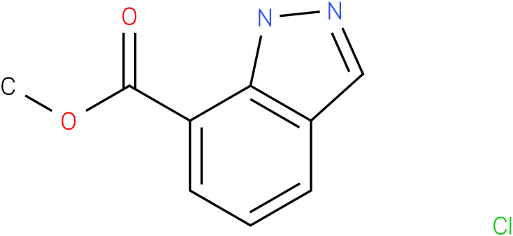 1H-INDAZOLE-7-CARBOXYLIC ACID,METHYL ESTER,HYDROCHLORIDE (1:1)