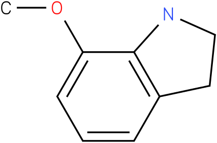 1H-INDOLE,2,3-DIHYDRO-7-METHOXY-