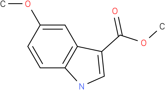 1H-INDOLE-3-CARBOXYLIC ACID,5-METHOXY-,METHYL ESTER