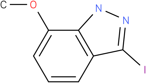 1H-INDAZOLE,3-IODO-7-METHOXY-