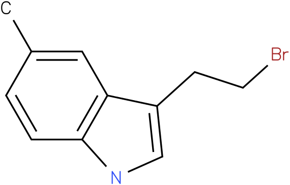 3-(2-BROMOETHYL)-5-METHYL-1H-INDOLE