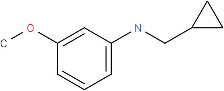 N-(cyclopropylmethyl)-3-methoxybenzenamine