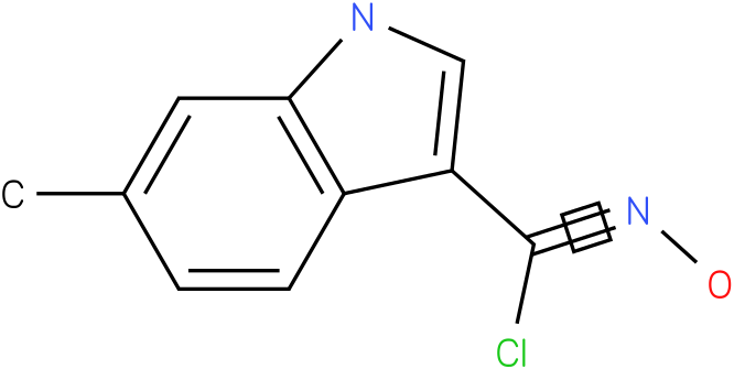 6-METHYL-1H-INDOLE-3-CARBOXIMIDOYL CHLORIDE,N-HYDROXY