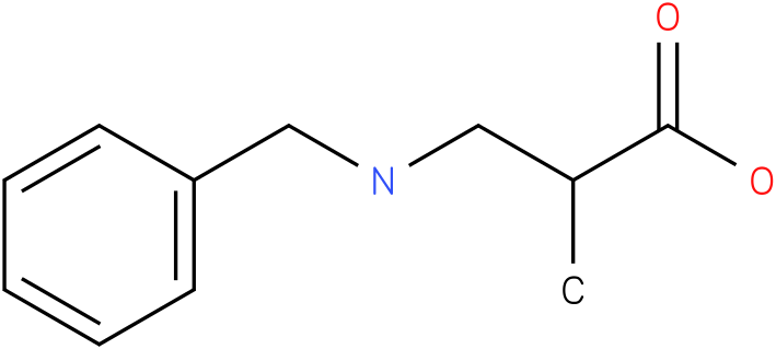 3-(benzylamino)-2-methylpropanoic acid