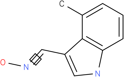 4-METHYL-1H-INDOLE-3-CARBOXALDEHYDE OXIME