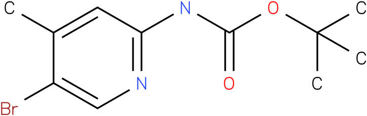 Carbamic acid,(5-bromo-4-methyl-2-pyridinyl)-,1,1-dimethylethyl ester (9Cl).