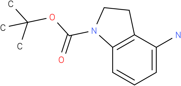 1H-INDOLE-1-CARBOXYLIC ACID,4-AMINO-2,3-DIHYDRO-,1,1-DIMETHYLETHYL ESTER