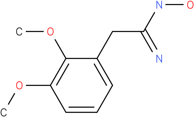 BENZENEETHANIMIDAMIDE,N-HYDROXY-2,3-DIMETHOXY