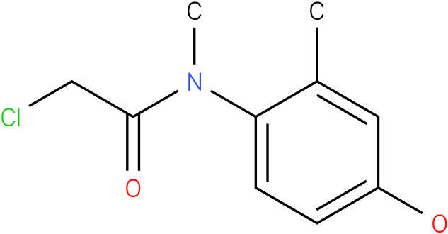 2-chloro-N-(4-hydroxy-2-methylphenyl)-N-methylacetamide