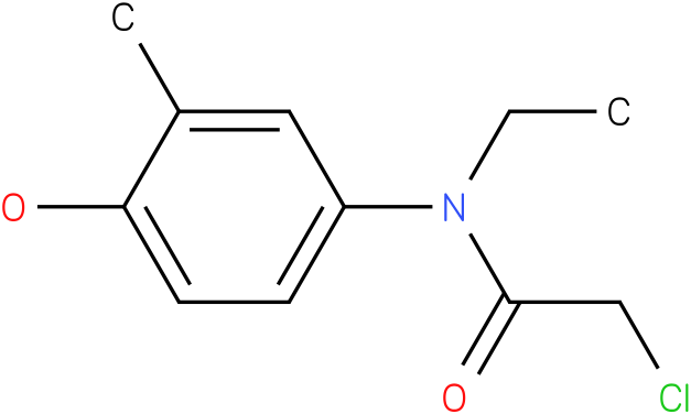 2-chloro-N-ethyl-N-(4-hydroxy-3-methylphenyl)acetamide