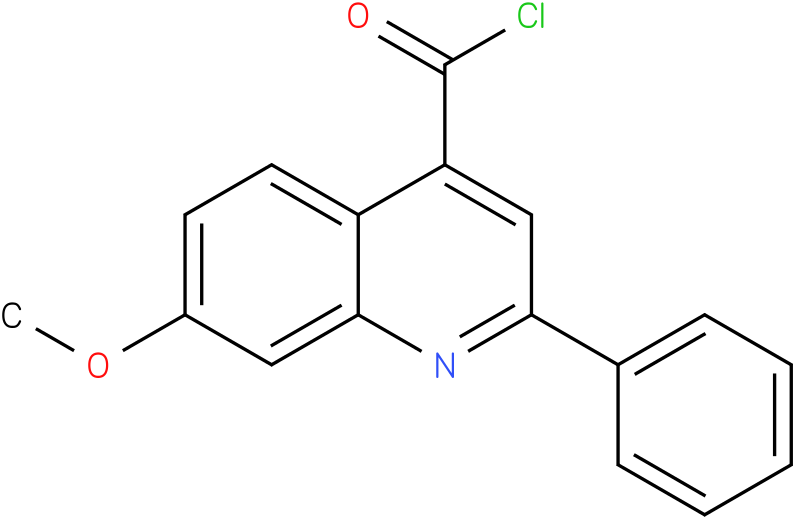 4-QUINOLINECARBONYL CHLORIDE,7-METHOXY-2-PHENYL-