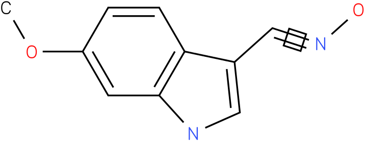 6-METHOXY-1H-INDOLE-3-CARBOXALDEHYDE OXIME