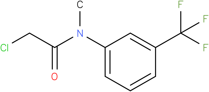 2-chloro-N-(3-(trifluoromethyl)phenyl)-N-methylacetamide