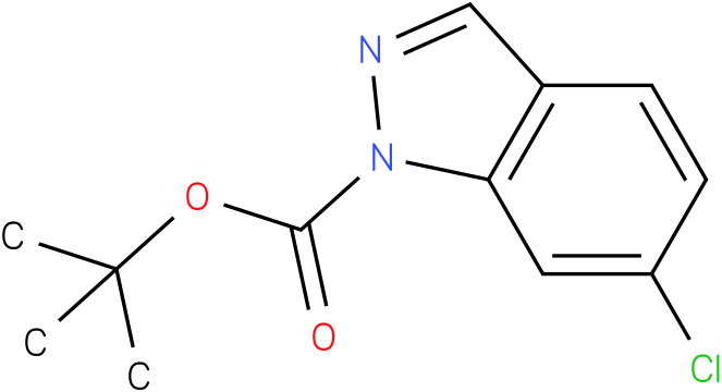 TERT-BUTYL 6-CHLORO-1H-INDAZOLE-1-CARBOXYLATE