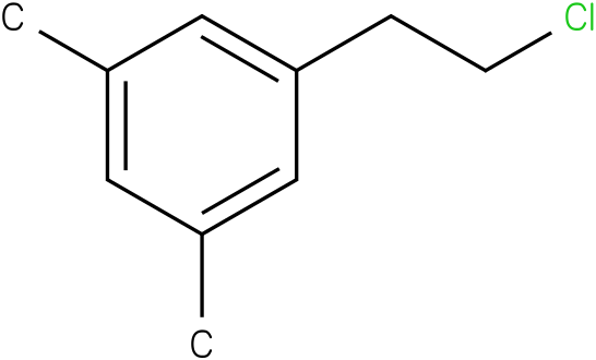 1-(2-chloroethyl)-3,5-dimethylbenzene