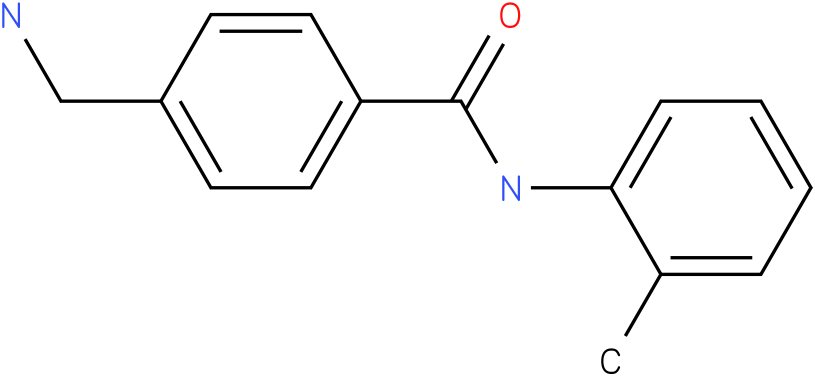 BENZAMIDE,4-(AMINOMETHYL)-N-(2-METHYLPHENYL)-