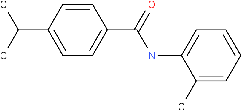 BENZAMIDE,4-(1-METHYLETHYL)-N-(2-METHYLPHENYL)-