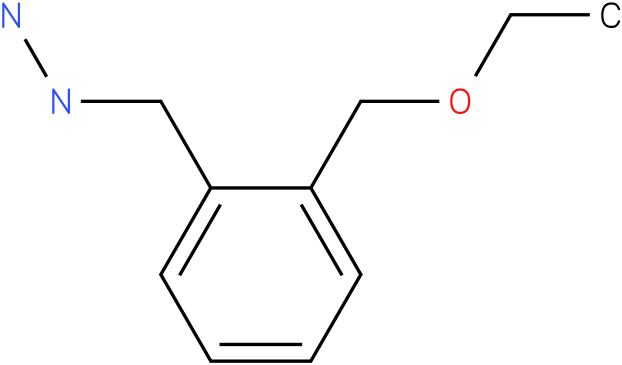 (2-(ethoxymethyl)benzyl)hydrazine