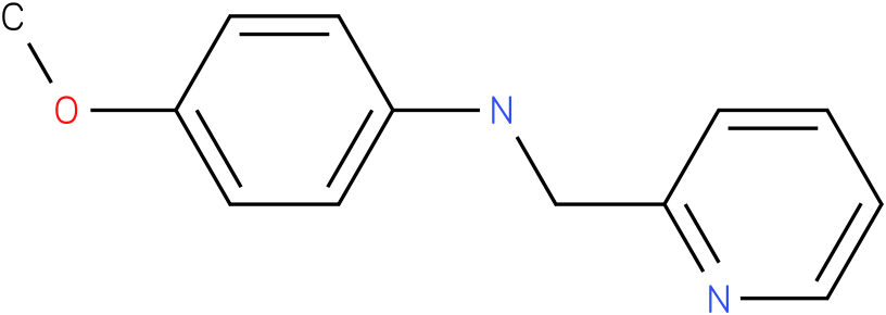 4-methoxy-N-((pyridin-2-yl)methyl)benzenamine