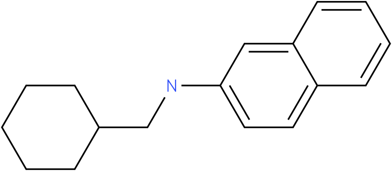 N-(cyclohexylmethyl)naphthalen-2-amine