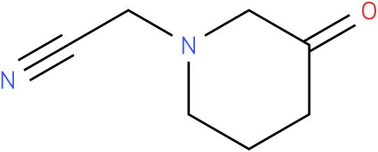 2-(3-oxopiperidin-1-yl)acetonitrile