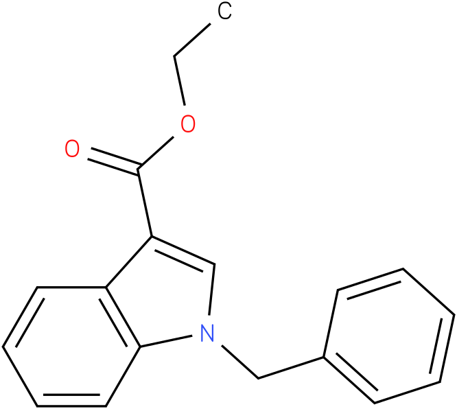 1H-INDOLE-3-CARBOXYLIC ACID,1-(PHENYLMETHYL)-,ETHYL ESTER