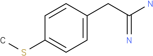 2-(4-Methylsulfanyl-Phenyl)-Acetamidine