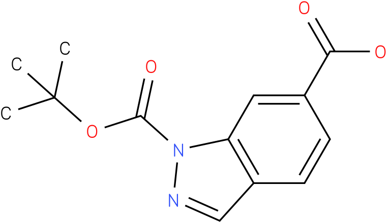 1-(TERT-BUTOXYCARBONYL)-1H-INDAZOLE-6-CARBOXYLIC ACID