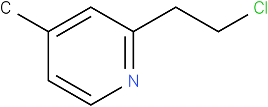PYRIDINE,2-(2-CHLOROETHYL)-4-METHYL-