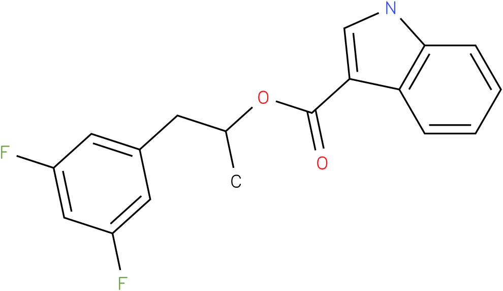 1H-INDOLE-3-CARBOXYLIC ACID,1-[(3,5-DIFLUOROPHENYL)METHYL]-.ETHYL ESTER