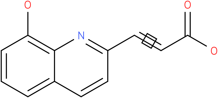 3-(8-hydroxy-quinolin-2-yl)-acrylic acid