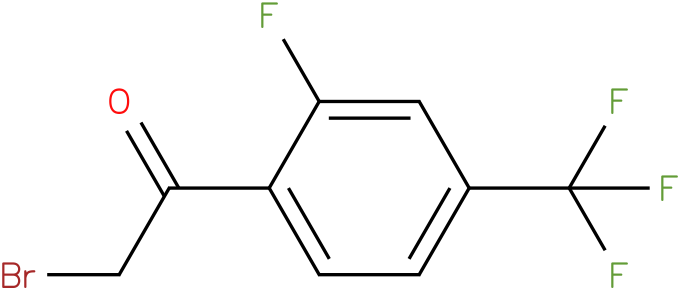 2-fluoro-4-(trifluoromethyl)phenacyl bromide