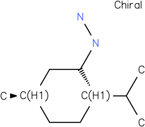 1-((2S,5R)-2-isopropyl-5-methylcyclohexyl)hydrazine