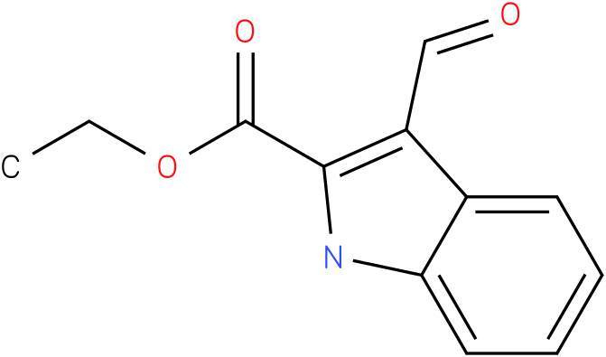 1H-INDOLE-2-CARBOXYLIC ACID,3-FORMYL-,ETHYL ESTER