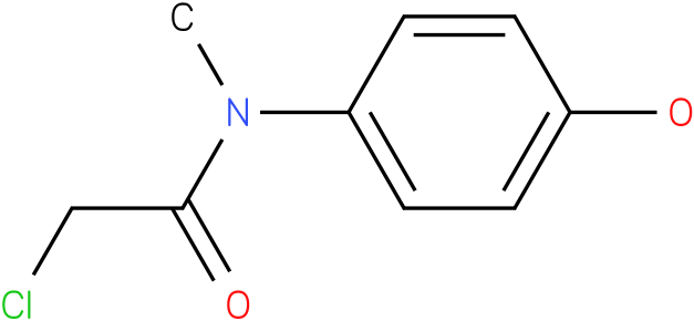 2-chloro-N-(4-hydroxyphenyl)-N-methylacetamide