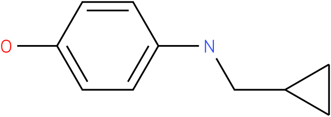 4-(cyclopropylmethylamino)phenol