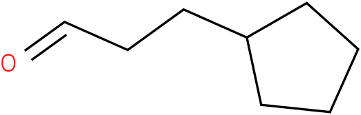 3-cyclopentylpropanal