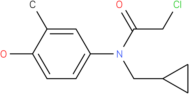 2-chloro-N-(cyclopropylmethyl)-N-(4-hydroxy-3-methylphenyl)acetamide