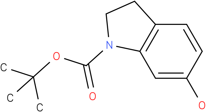 1H-INDOLE-1-CARBOXYLIC ACID,2,3-DIHYDRO-6-HYDROXY-,1,1-DIMETHYLETHYL ESTER