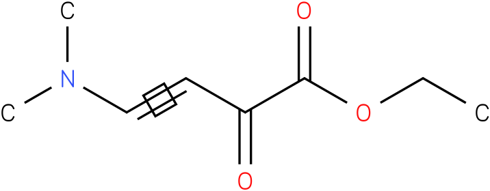 ETHYL 4-(DIMETHYLAMINO)-2-OXOBUT-3-ENOATE