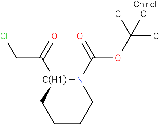 (S)-tert-butyl 2-(2-chloroacetyl)piperidine-1-carboxylate