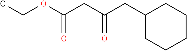 4-cyclohexyl-3-oxo-butyric acid ethyl ester