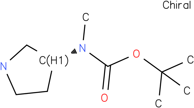 METHYL-PYRROLIDIN-3-YL-CARBAMIC ACID TERT-BUTYL ESTER