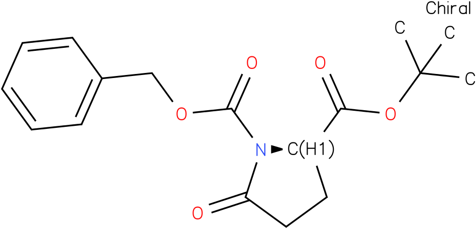 (R)-1-benzyl 2-tert-butyl 5-oxopyrrolidine-1,2-dicarboxylate